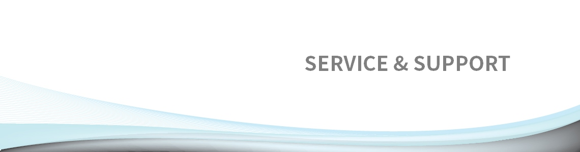 Service & Support Banner